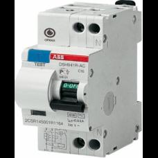 Выключатель автоматический дифференциальный (АВДТ) DSH941R 1п+N C16А 30мА тип АС