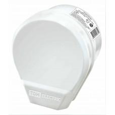 Разъём РШ/ВШ 32А 1-фазн. пластик белый ОУ (трехконтактный) TDM