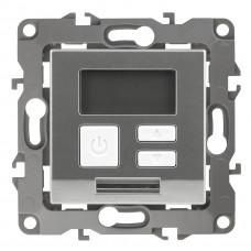 Терморегулятор универс. 230В-Imax16А IP20 алюминий 12-4111-03 Эра12