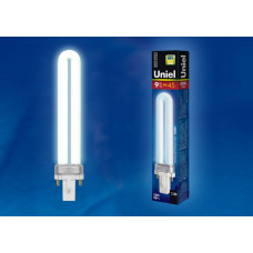 Лампа д/наст.светильников 9Вт G23 4000К Uniel PL