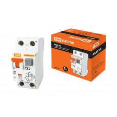 АВДТ32 2P 32A 30мА хар-ка С выкл. авт. дифференц. TDM