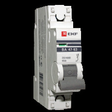 Выключатель автомат. 1Р 32А хар.C ВА 47-63 4,5кА 230В PROxima EKF