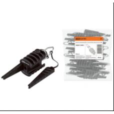 Зажим анкерный клиновой ЗАБ 16-25М PA25x100 EKF