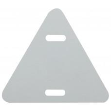 Бирка кабельная маркировочная У136 треугольник 52х55мм (100шт) ЭРА