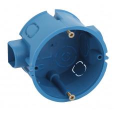 ЭРА Коробка установочная КУТС 68х45мм для твердых стен саморез., стыковочные узлы синяя IP20 (200/40