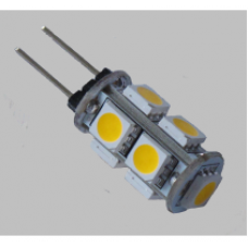 Лампа светодиод.G4 2Вт 12В 2700K силикон/прозрачный LB-420 Feron