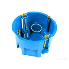Коробка установочная д/гипсокартона 68х45мм IP20 400В с пласт. лапками U-PLAST