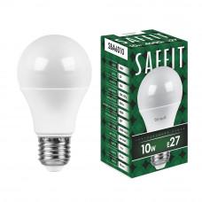 Лампа светодиод.ШАР 10Вт E27 4000K 800Lm матовый SAFFIT SBA6010 Feron
