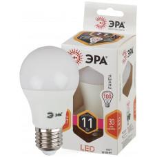 Лампа светодиод.ШАР 11Вт E27 2700К LED A60-11W-827-E27 ЭРА