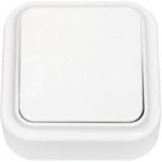 ПРАЛЕСКА-выключатель 1 клав. ОУ белый 6А 250В СВЕТОПРИБОР
