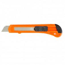 Нож канцелярский 18мм выдвижное лезвие