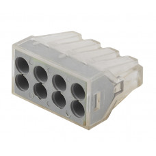 Строительно-монтажная клемма СМК 108 8 отверстий 1.0-2.5мм2 NO-222-22 ЭРА