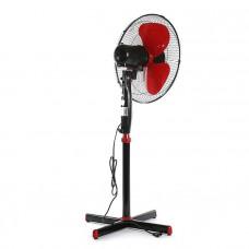 Вентилятор напольный 40-45 Вт 3 режима черно-красный