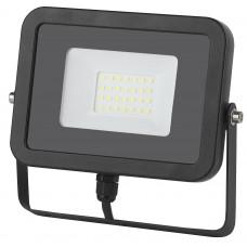 Прожектор светодиодный 30Вт 6500К IP65 LPR-30-6500К-М SMD Eco Slim ЭРА