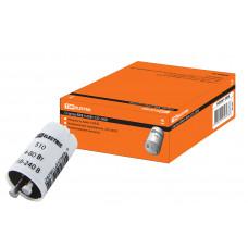Стартер S10 4-80Вт 220-240В алюм/контакты TDM