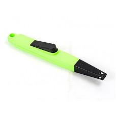 Пьезозажигалка ENERGY JZDD-21-G зеленая