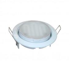 Светильник GX53/H2 NICKEL 10 PROM серебро Uniel