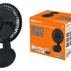 Вентилятор настольный ВС-01 Тайфун 15Вт D150 черный TDM