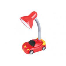 Светильник настольный KD-383 С04 красный Машинка 40Вт Camelion