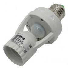 Датчик движения инфракрасный в патрон E27 60Вт до 6м IP44 (sbl-ms-010) Smartbuy
