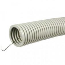 uplast труба гофр. ПВХ d20мм с зондом 10м легкая (цена за 1м) 502-020