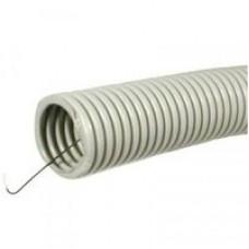 uplast труба гофр. ПНД d 16 мм, с протяжкой (зонд) 100м черная (цена за 1м) 711-016