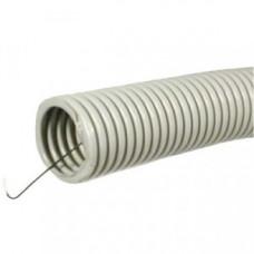 uplast труба гофр. ПНД d 20 мм, с протяжкой (зонд) 100м черная (цена за 1м) 711-020