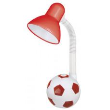 Светильник настольный KD-381 С33 красный Мяч (Е27, 40Вт) Camelion