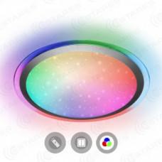 Estares св-к накладной св/д Arion RGB R 40W(3520lm) 2K-4K-6K круг d430x95 звезд. небо, с пультом ДУ
