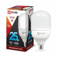 ASD/InHome высокомощн. E27 25W (2250lm) 4000К 4K 230V 144x80 HP-PRO 1057