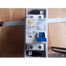 Выключатель автомат дифф. тока DZB2L-32 C16 CHDAZA