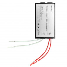 APEYRON Трансформатор понижающий 12V 70-200W IP20 105х48х27 металл черный 03-86