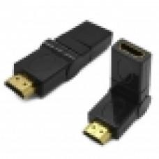 Переходник HDMI M/F поворотный