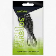 Наушники вакуумные SBE-011 черные Smartbuy A4 пакет