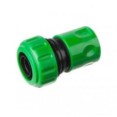 """Коннектор д/шланга 1/2"""" аквастоп (соединитель насадка-шланг) SILO"""