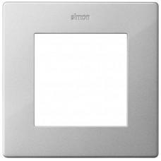 Simon 24 Алюминий Рамка 1-ая