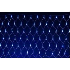 Гирлянда сетка 1,8х1,8м LED 200 синий