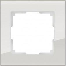 Рамка WERKEL FAVORIT белый стекло 1-я (5)