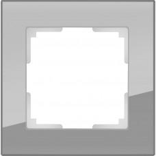 Рамка WERKEL FAVORIT cерый стекло 1-я (10)