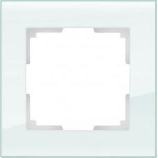 Рамка WERKEL FAVORIT натуральное стекло 1-я (5)