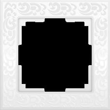 Рамка WERKEL FLOCK белая 1-я (10)