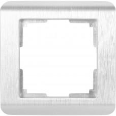 Рамка WERKEL STARK серебро 1-я (10)