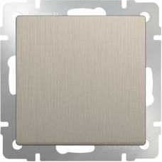 Модуль выключателя WERKEL 1кл. шампань (10)