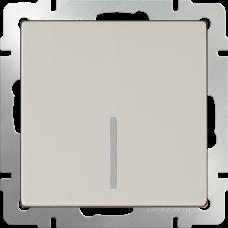 Модуль выключателя WERKEL 1кл. слоновая кость подсветка (10)